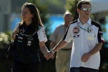 Formel 1 - Anthony Davidson und sein Bond Girl