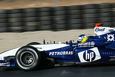 Formel 1 - Testing Time, Tag 2: Williams-Duo hängt Schumacher ab