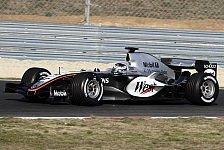Formel 1 - Barcelona: Juan Pablo Montoya gab Einstand im MP4-20