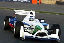 Motorsport - A1GP Renner mit Rundenrekord in Dubai
