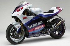MotoGP - Suzuki enthüllt neues GSV-R Farbschema