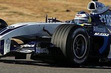 Formel 1 - BMW-Williams Präsentation: Ein Fahrer & ein Auto