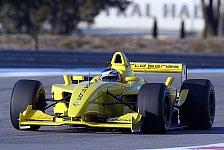 Motorsport - Heikki Kovalainen testet den Formel Renault 3,5