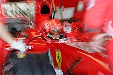 Formel 1 - Valencia: Schumacher testete Regenreifen