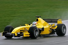 Formel 1 - B-Spezifikation für Jordan