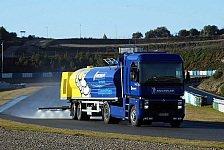 Formel 1 - Jerez: Zonta alleine im Kunstregen