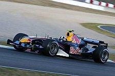 Formel 1 - Red Bull spielt Erwartungen herunter