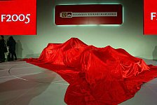 Formel 1 - Heute ist es so weit: Ferrari stellt den F2005 vor