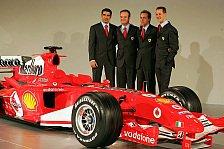 Formel 1 - Schickt Ferrari den F2005 in die Wüste?