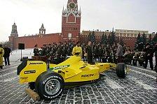 Formel 1 - Jordan: Präsentation auf dem Roten Platz