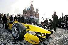 Formel 1 - Jordan EJ15 (Moskau, 25.02.05) & Roll-Out