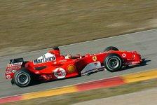Formel 1 - Ferrari entscheidet Ende der Woche über den F2005