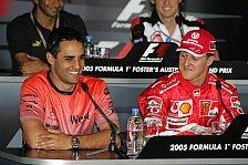 Formel 1 - Nur ein Gespr�ch in sechs Jahren: Montoya: Ferrari war nur mit Schumi stark