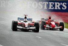 Formel 1 - Regen kündigt sich an