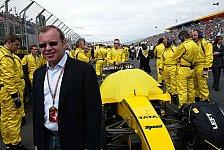 Formel 1 - Eddie Jordan sperrt Alex Shnaider aus