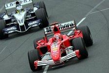 Formel 1 - Melbourne 2005 - Der deutsche Knall
