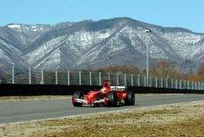 Formel 1 - Ferrari: Badoer beginnt Fiorano-Test