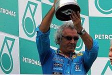 Formel 1 - Flavio Briatore hat keine Angst vor dem F2005
