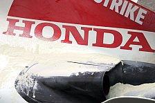 Formel 1 - Honda-V8 absolvierte ersten Streckentest
