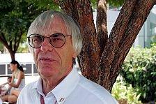 Formel 1 - Ecclestone: Kein Rennen für Singapur