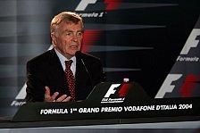 Formel 1 - Mosley gibt Pressekonferenz