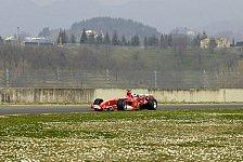 Formel 1 - Michael Schumacher: Ich bin mit dem F2005 sehr zufrieden