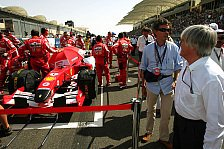 Formel 1 - Bernie pusht für ein neues Qualifying-Format