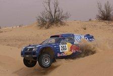 Motorsport - Volkswagen wirbt mit neuem Renn-Polo für Rallye Dakar 2006