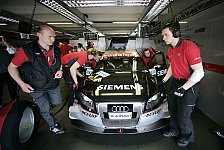 DTM - Audi vor dem Aufbruch in die D�nen