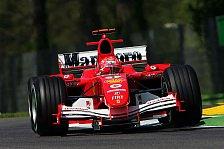 Formel 1 - Der Freitag: Drei Deutsche & drei Österreicher in Imola