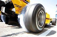 Formel 1 - Weniger Traktion, mehr Kontrolle