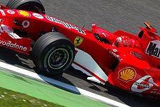 Formel 1 - 3. Freies Training: Michael Schumacher gibt den Ton an