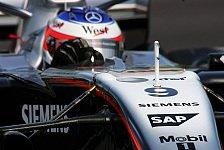 Formel 1 - 1. Qualifying: Schumacher jagt die jungen Wilden