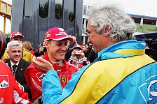 Briatore: Schumacher kämpfte mit Größen, Hamilton Taxi-Fahrer