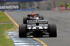 Formel 1 - Motor-Probleme bei Williams: Heidfeld erhält neues Aggregat