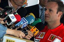 Formel 1 - Rubens: Ich kann gewinnen