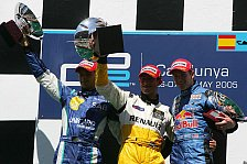 Motorsport - GP2: Lopez gewinnt Sprintrennen am Sonntag