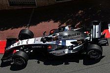 Formel 1 - 1. Freies Training: Montoya überflügelt Alonso