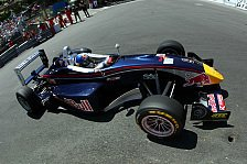 Formel 1 - Das sah schon ziemlich kriminell aus: Vettels Blick auf Monaco