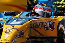 Formel 1 - Renault: Alonso mit P2 extrem zufrieden