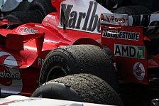 Formel 1 - Bridgestone möchte weiter pushen