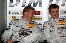 DTM - Zuversicht bei Mercedes-Benz