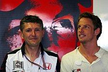 Formel 1 - Die Bewunderung w�chst Tag f�r Tag: Fry lobt Button