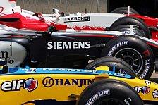 Formel 1 - Die F1-Welt Backstage: Auf den Tank geschaut