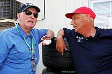 Formel 1 - Niki Lauda im Reisebüro