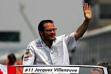 Formel 1 - Villeneuve zweifelt Ecclestone-Kritik an