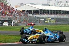 Formel 1 - Renault mit veränderter Fahrerpaarung in Indy