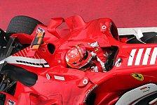 Formel 1 - Ein ermutigender Tag für die Scuderia