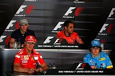 Formel 1 - Illustres Quartett bei FIA-Talkshow
