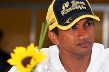 Formel 1 - Karthikeyan spielt Force-India-Gerüchte runter